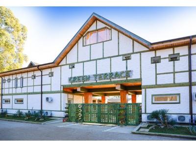 Отель Green Terrace Абхазия   Территория, внешний вид