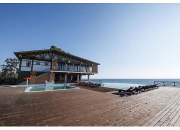 Территория отеля | Отель «Green Terrace»| Абхазия Новый Афон