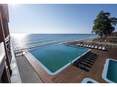Отель Green Terrace Абхазия | Бассейны