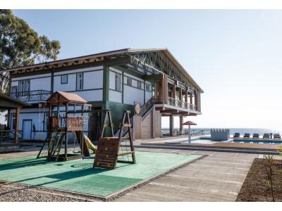 Отель Green Terrace Абхазия | Территория, внешний вид